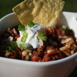 Chili Beef Soup recipe