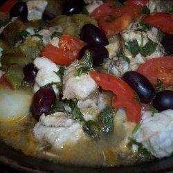 Tagine of Monkfish recipe