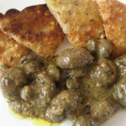 Mushrooms in Cognac Herb Sauce recipe