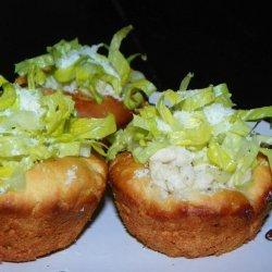 Mini Chicken Caesar Salad Cups recipe