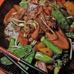 Acadia's Tofu Stir Fry recipe