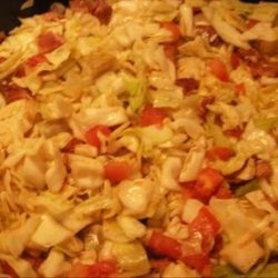 Hillbilly Salad With Cabbage recipe