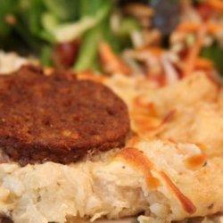 German Potato and Sausage Casserole recipe