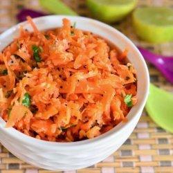 Shredded Carrot Salad recipe