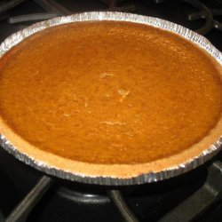 Chai Pumpkin Pie recipe