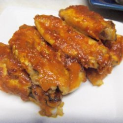 Chicken Wings With Jalapeno Pepper Sauce recipe
