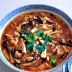Chinese Hot and Sour Soup recipe