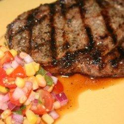 Steak With Tomato Salsa recipe