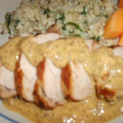 Pork Tenderloin With Grainy Mustard Sauce recipe