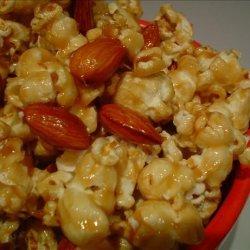 Almond Popcorn Crunch recipe