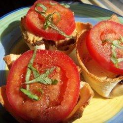 Caprese Tartlets ( Recipe Courtesy Melissa D'arabian) recipe
