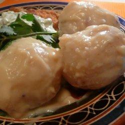 Baby Potatoes in Mustard Sauce recipe