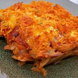 Vegan Cheesy Rice & Cabbage Casserole recipe