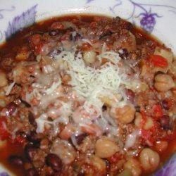Vegetarian Chili for the Crock Pot recipe