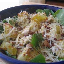 Warm Chicken, Bacon & Potato Salad recipe