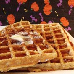 Halloween Waffles recipe