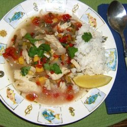 Hot and Spicy Fish Soup recipe