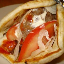Gyros Quick and Easy (Donair / Donar) recipe