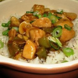 Kung Pao Chicken for Two recipe