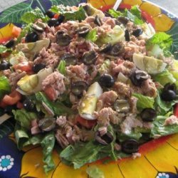 Salade Niçoise  or  salad from Nice  (France) recipe