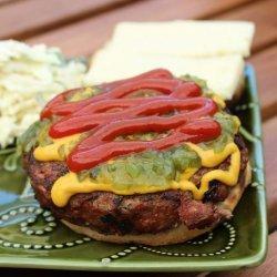 Jeff's Caramelized Onion Burger recipe