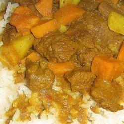 Beef & Sweet Potato Curry recipe