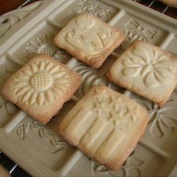 Sugar Cookies for Ceramic Cookie Molds recipe