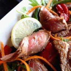 Korean Beef Salad recipe