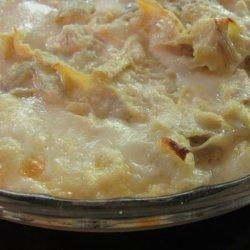 Hot Cheesy Artichoke Dip Appetizer recipe