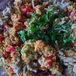 Tangy Chicken Couscous Salad recipe