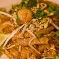 Your Pad or Mine? (Chicken & Shrimp Pad Thai) recipe