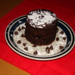 Chocolate Cake in a Cup- Gluten Free Style recipe