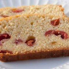 Vanilla Butternut Pound Cake With Maraschino Cherries recipe