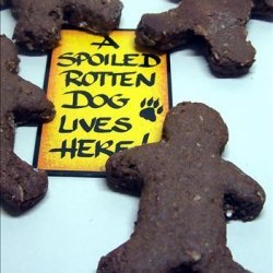 Gingerbread Men for Dogs recipe