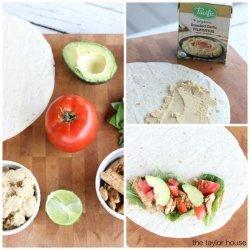Taco Chicken Wraps recipe