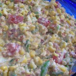 Bacon Ranch Corn Salad recipe