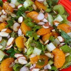 Mandarin Orange Almond Salad recipe