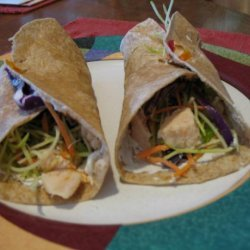 Chicken Tortilla Wraps(2ww Points) recipe