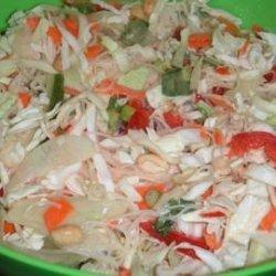 Shredded Asian Salad recipe