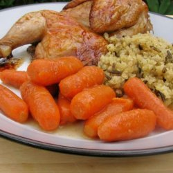 Dressed up Baby Carrots recipe