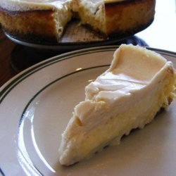 Cheese Pie With Sour Cream Topping recipe