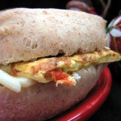 Ham and Eggs Frittata Biscuits recipe