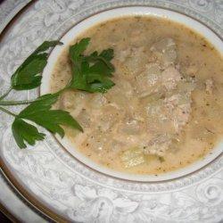 Buttermilk Salmon Chowder recipe