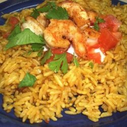 Curry Chicken and Tomato Pilaf recipe