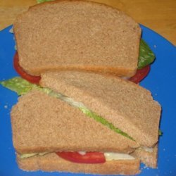 Light and Healthy 100% Whole Wheat Bread recipe
