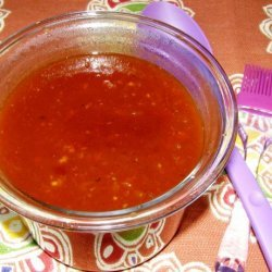 Homemade Sweet and Spicy Barbecue Sauce recipe