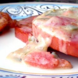 Country Ham,fried Green Tomatoes W/ Cream Gravy recipe