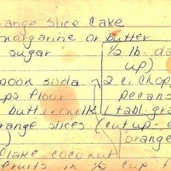 Orange Slice Cookies recipe