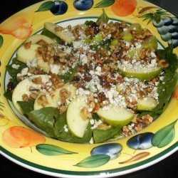 I've Got the Spinach Apple Blues Salad recipe