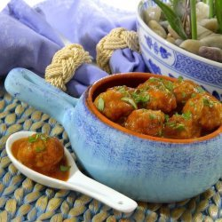 Applesauce Meatballs recipe